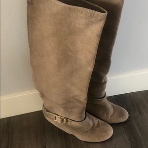Vince Camuto Alician  suede Knee High Boots
